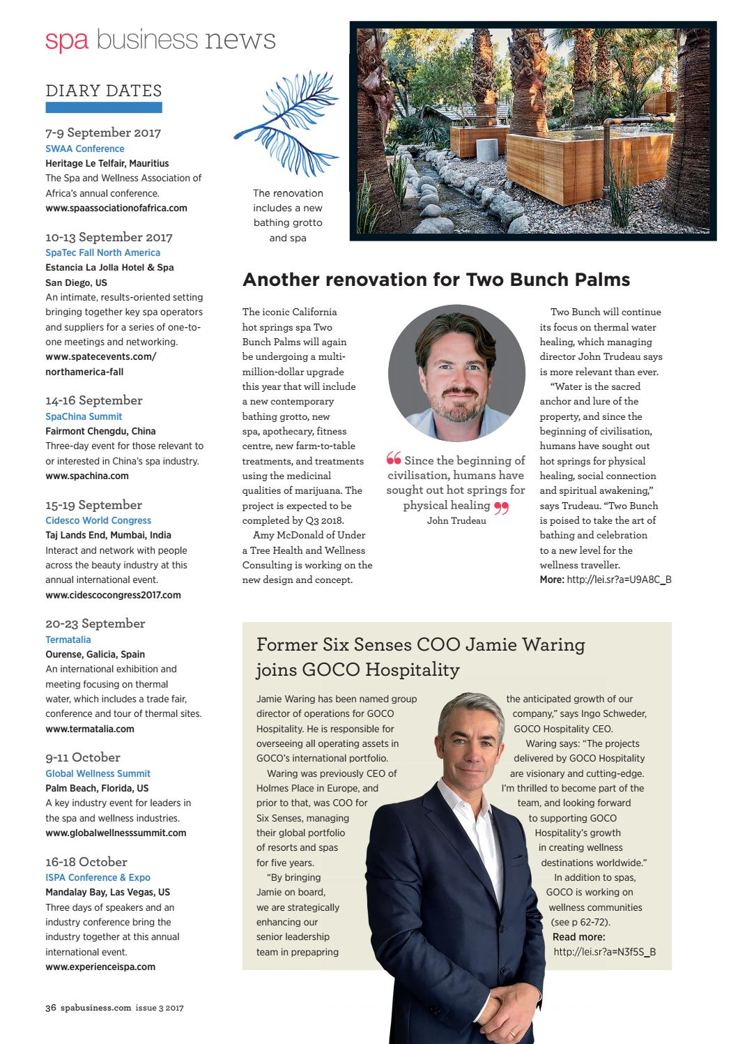 Spa Business issue 3 2017