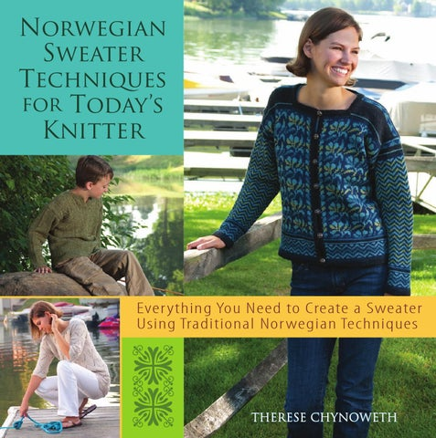 185b740e Therese chynoweth norwegian sweater techniques for today%27s knitter ...
