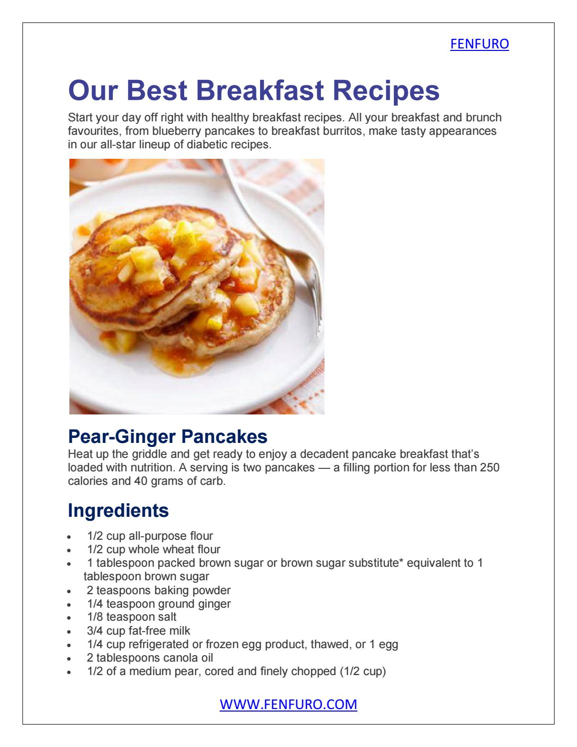 Our Best Breakfast Recipes By Furocyst1 Issuu
