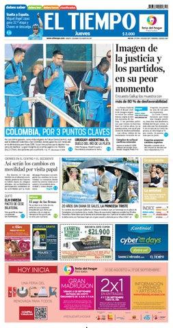 EL TIEMPO 31/08/2017