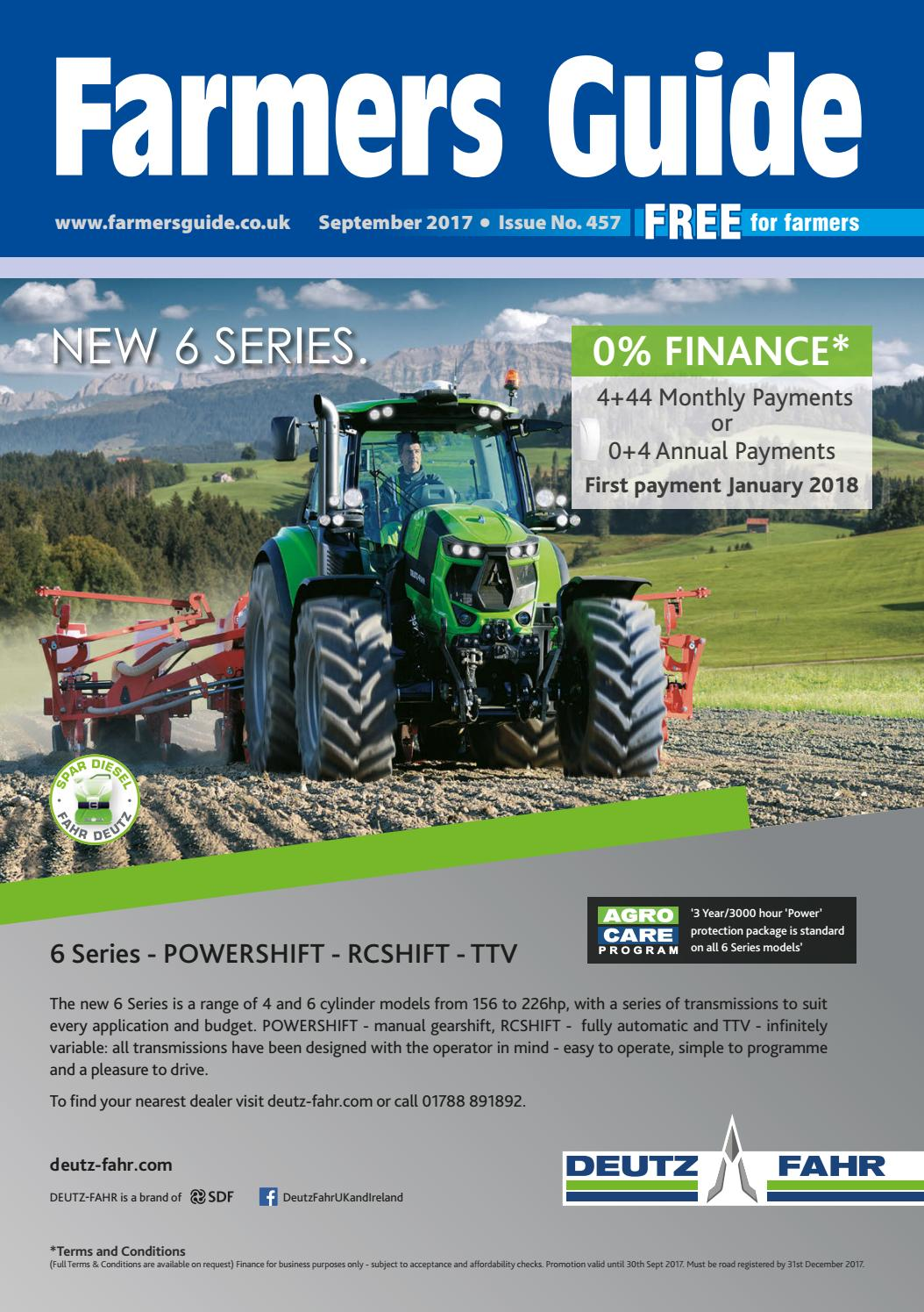 Farmers Guide September 2017 By Issuu Scotts Lawn Tractor 2046h Belt Drive Diagram