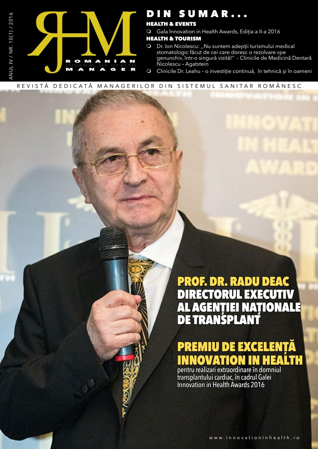 Rjhm 10 (1) 2016 by Innovation in Health Center - issuu