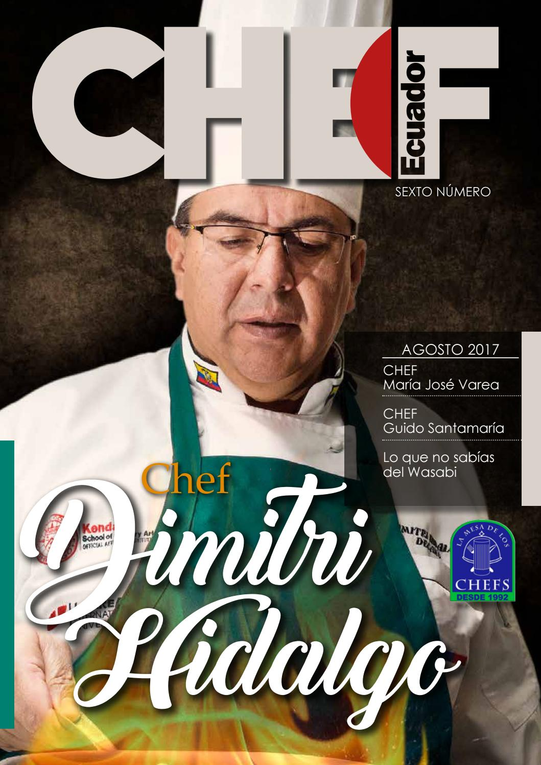 CHEF ECUADOR 6 by Chef Ecuador - issuu