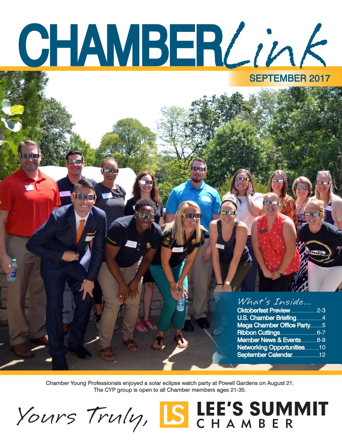 September Chamber Link Newsletter 2017 By Leeu0027s Summit Chamber Of Commerce    Issuu
