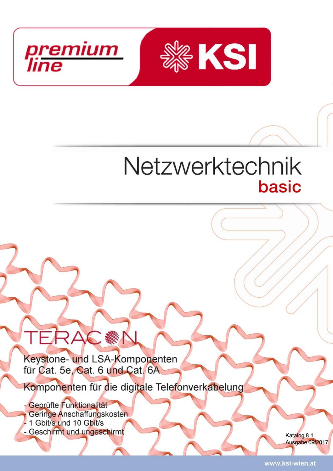 Netzwerktechnik basic (Teracon) by Premium-Line KSI GmbH, Gerald ...