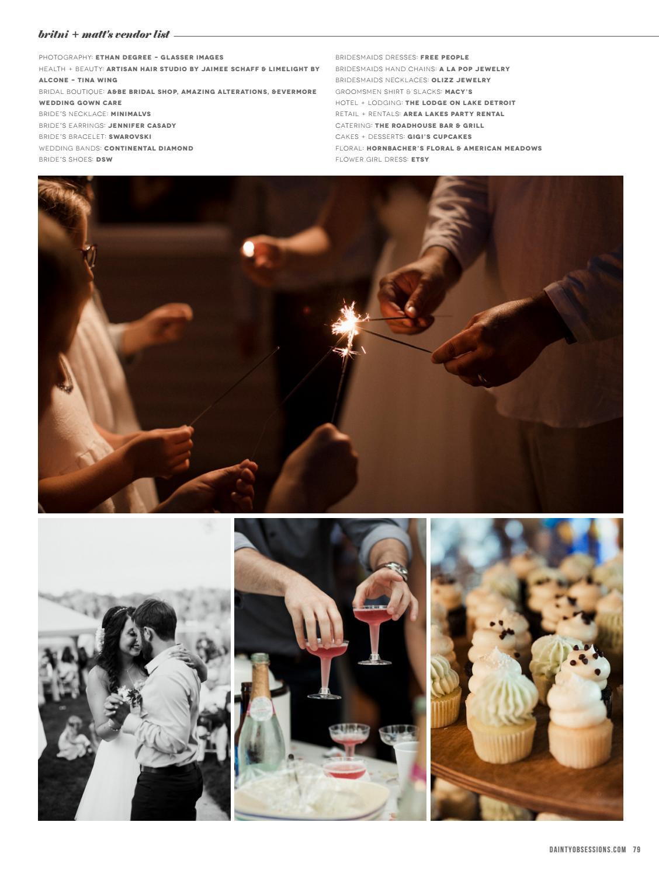 Dainty Obsessions V6 No1 Wedding Magazine By Dainty Obsessions