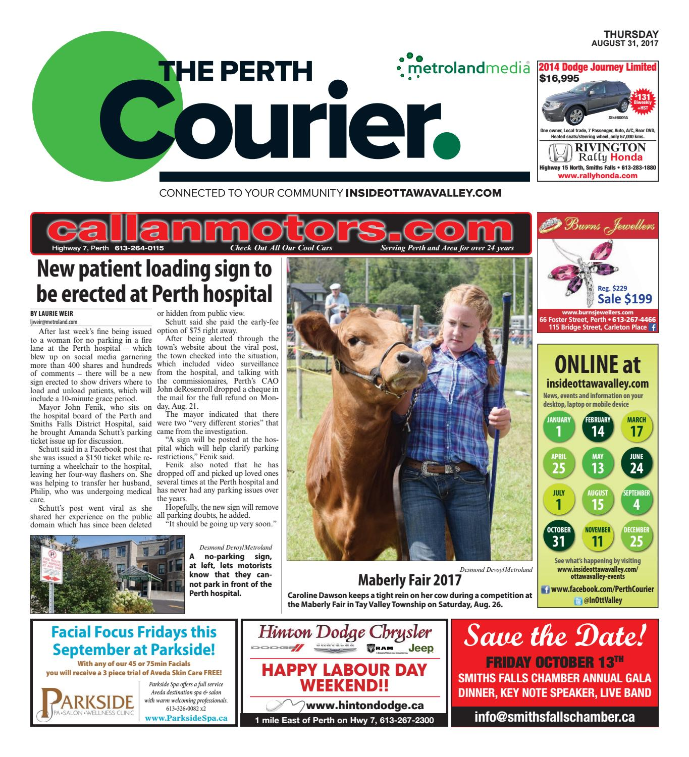 Perth083117 by metroland east the perth courier issuu fandeluxe Choice Image