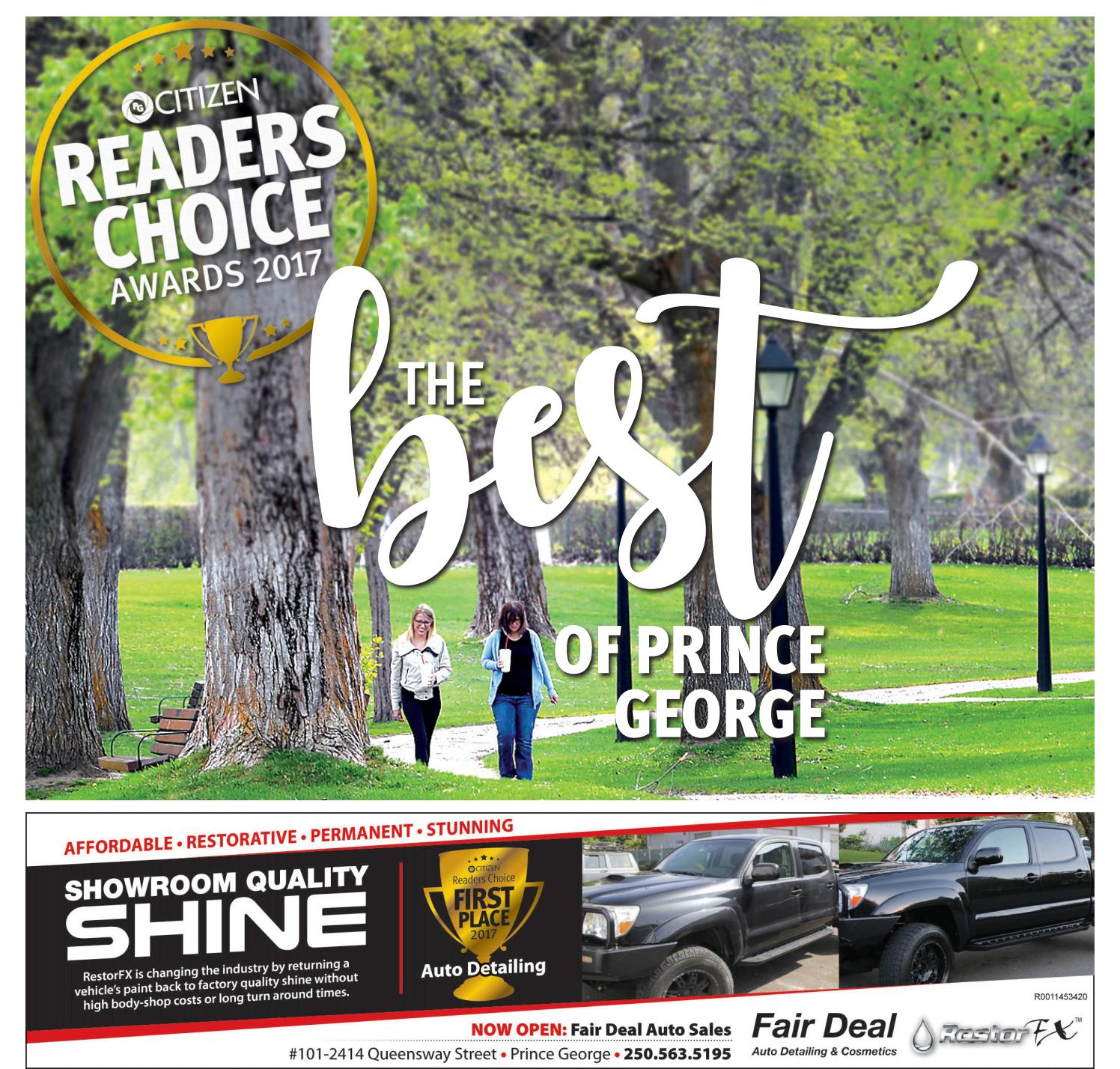 Readers choice 2017 by Prince George Citizen - issuu