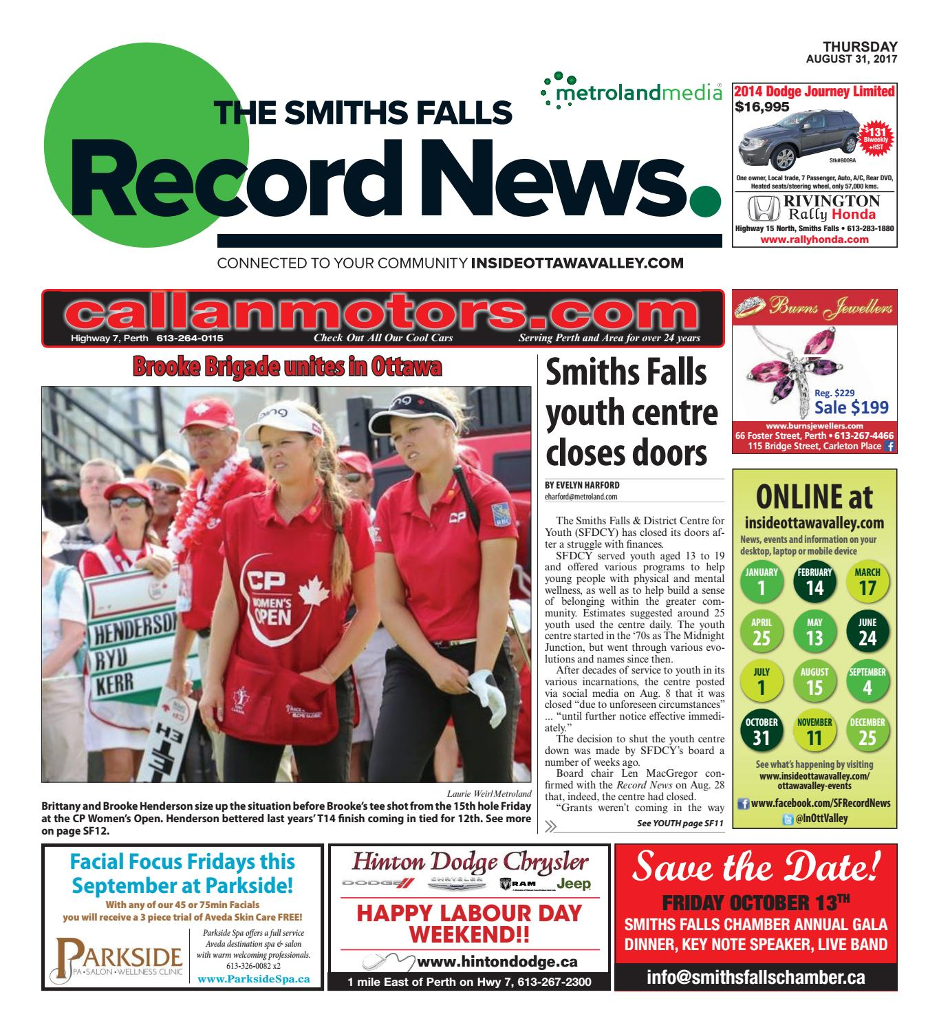 Smithsfalls083117 by Metroland East - Smiths Falls Record
