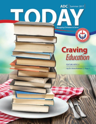 Adc Today Summer 2017 By Acadia Divinity College Issuu