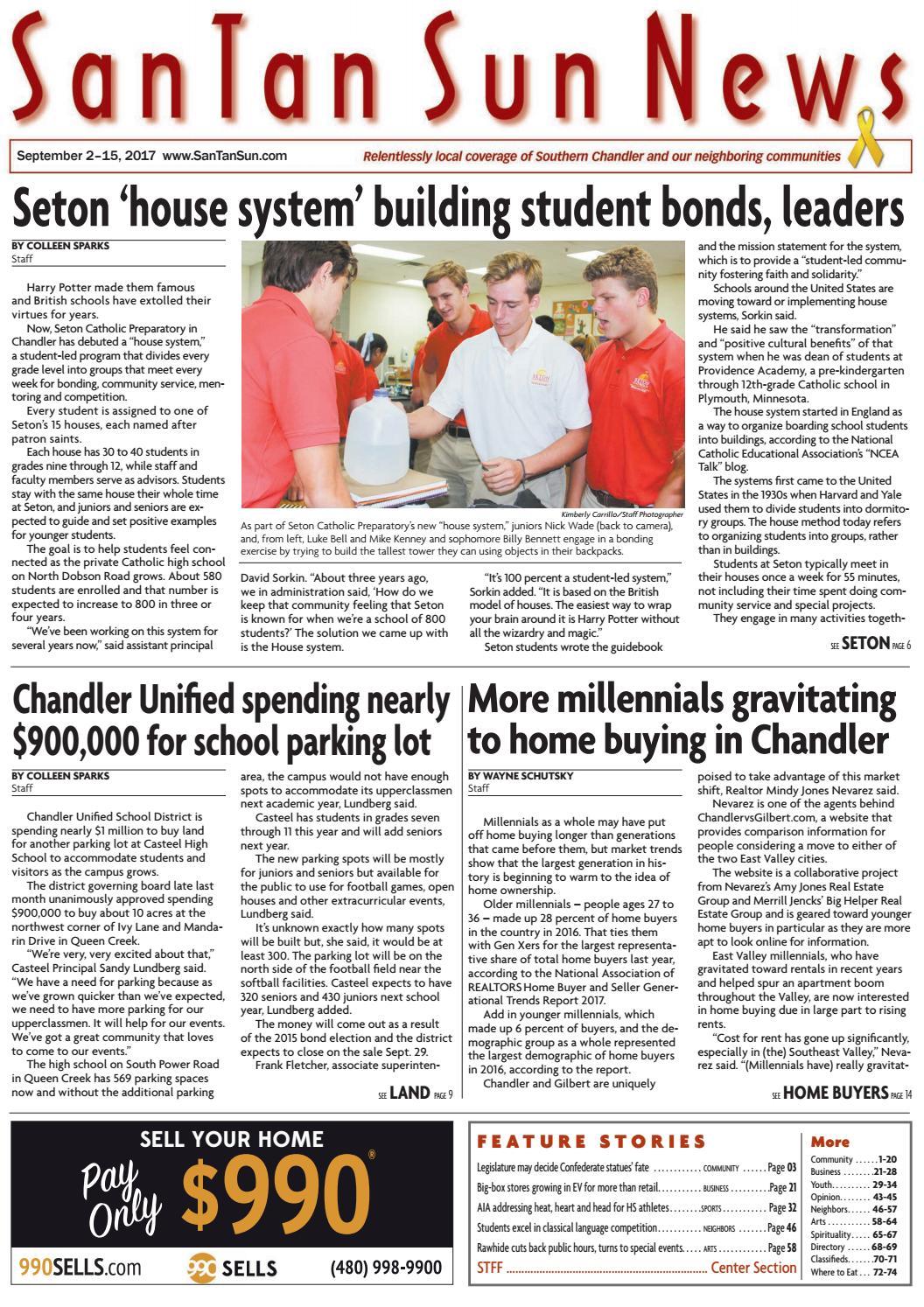 SanTan Sun News - September 2, 2017