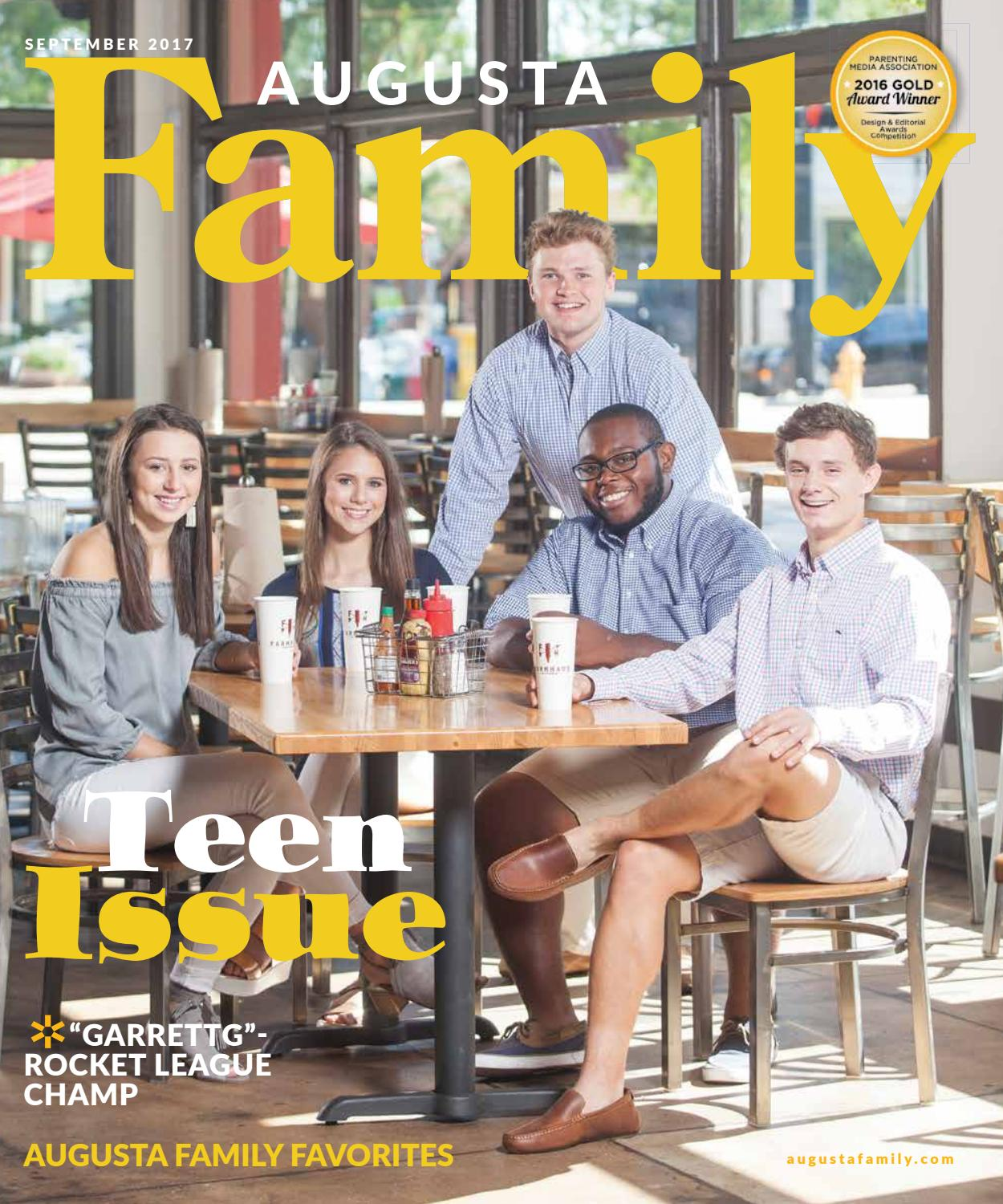 e8be7724 Augusta Family Magazine September 2017 by Augusta Family Magazine ...
