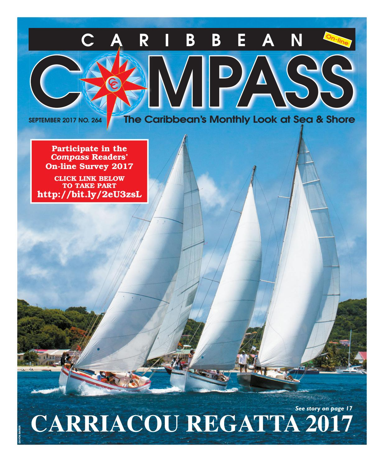 Caribbean Compass Yachting Magazine September 2017 by Compass ...