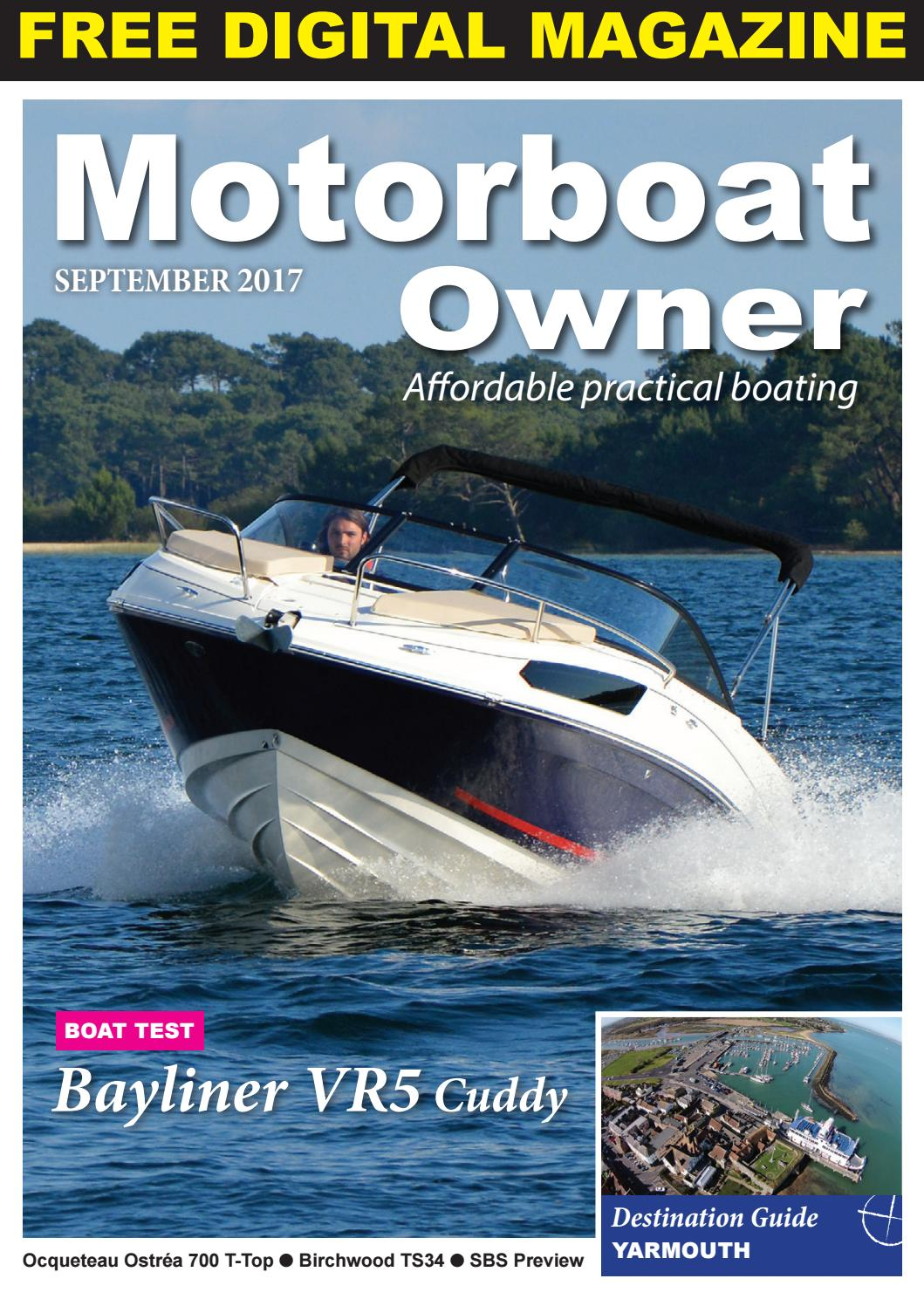 motorboat owner september 2017 by digital marine media ltd  rinker 270 fiesta vee manual meat.php #2