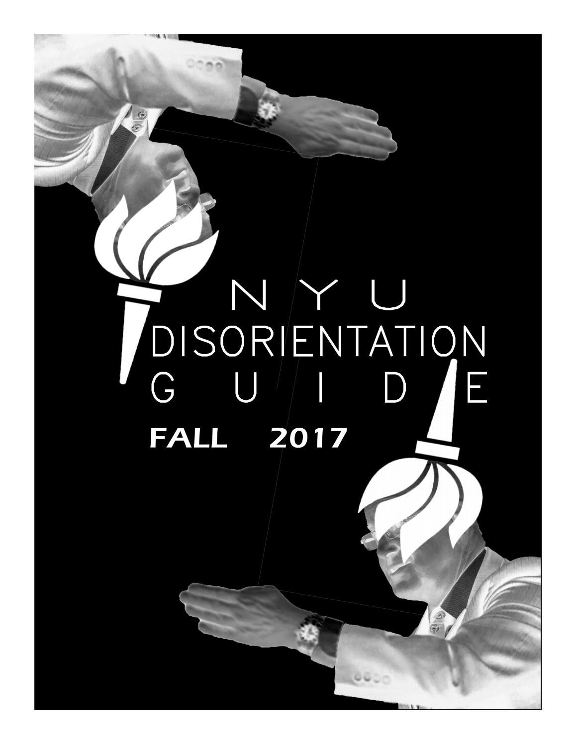 Nyu Disorientation Guide 2017 2018 By Nyu Disorientation Issuu