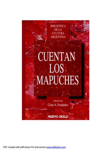 951b4ad824d7 Cuentan los mapuches by Alex Gigena - issuu