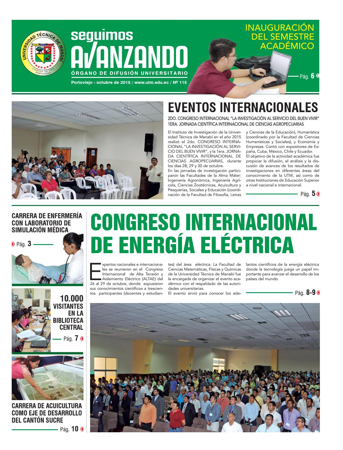 Octubre 2015 by PublicacionesUTM - issuu