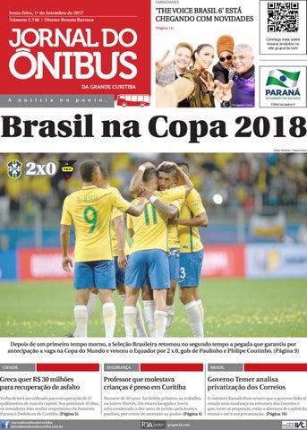 35905b6d3d Jornal do Ônibus de Curitiba - Edição 01 09 2017 by Editora Correio ...