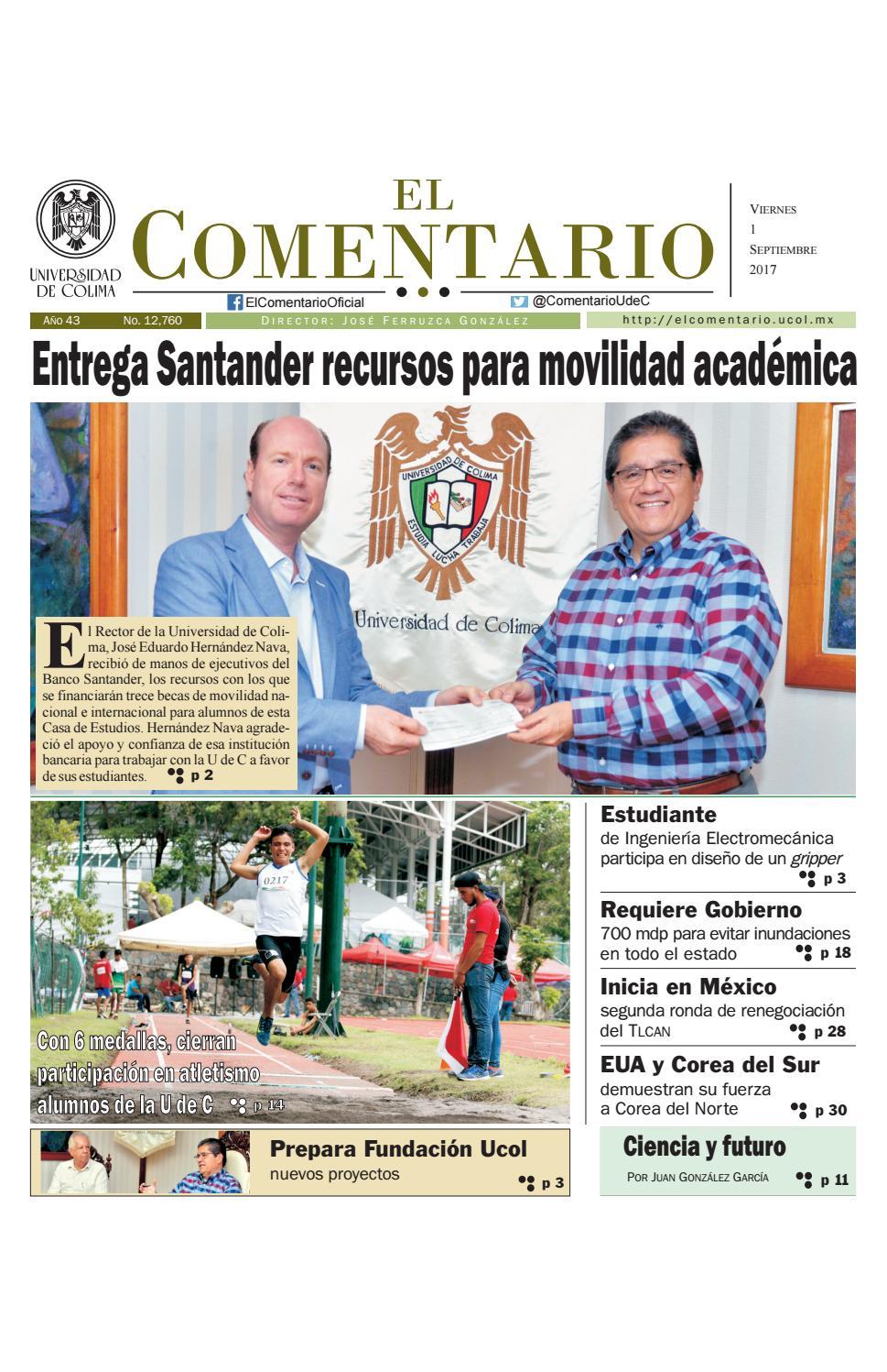 Edición del viernes 1 de septiembre de 2017 by El Comentario 2017 ...