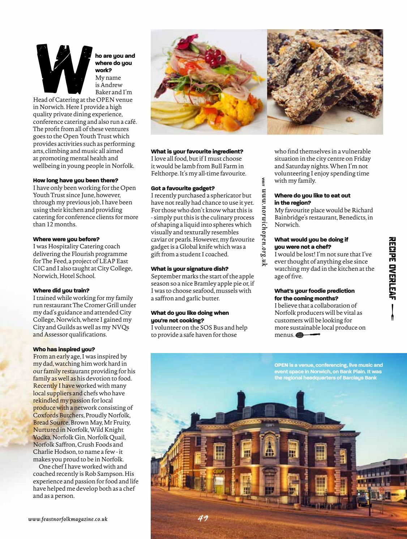 Feast Norfolk Magazine September 17 Issue 19