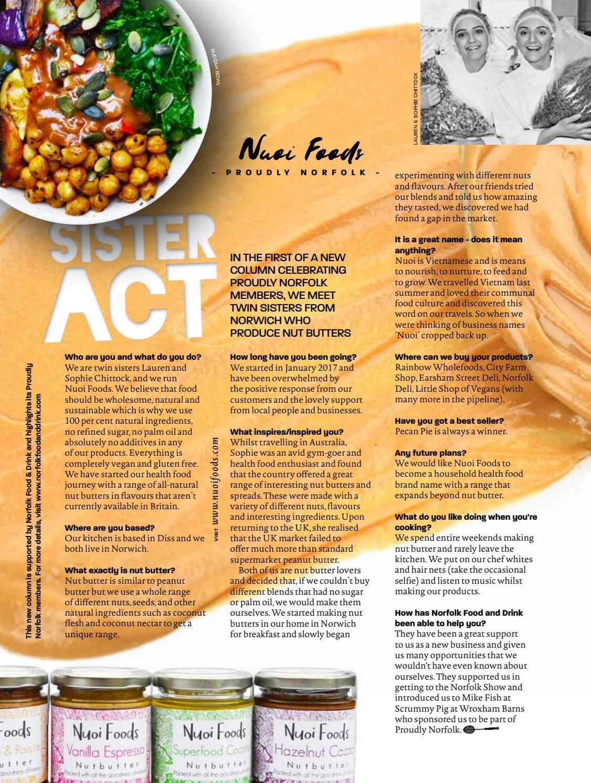 Feast Norfolk Magazine September 17 Issue 19 by Feast