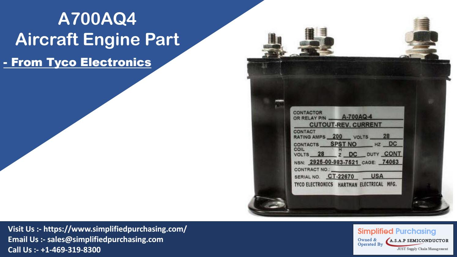 A700aq4 Cutout Relay Engine Generator By Tyco Electronics Asap Current Rating Semiconductor Issuu