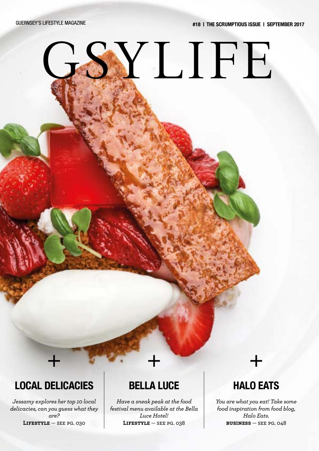 GSYLIFE  #18  SEPTEMBER 2017  THE SCRUMPTIOUS ISSUE  by