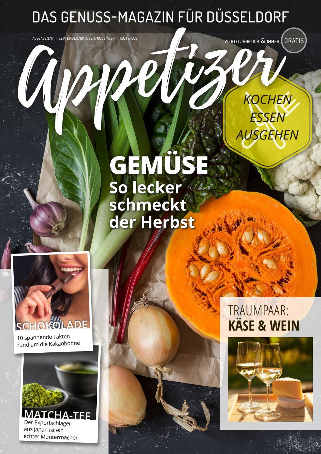 Appetizer 3/17 - Das Genuss-Magazin für Düsseldorf by Textquartier ...