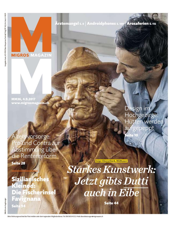 Migros Magazin 36 2017 D Aa By Migros Genossenschafts Bund Issuu