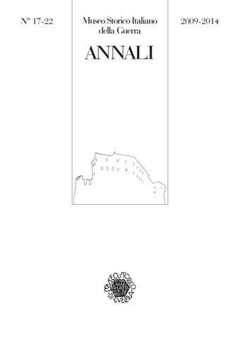 Annali17 22 web by Museo storico italiano della Guerra - issuu 17958003d062