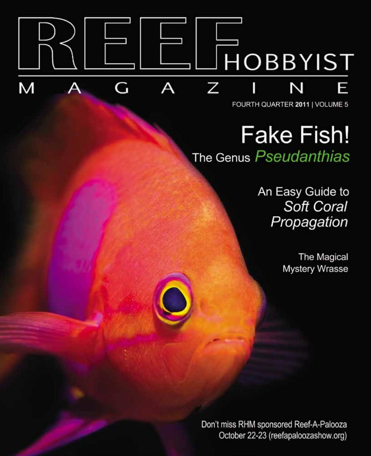 Reef Hobbyist Magazine Q4 2011 by harry tung - issuu