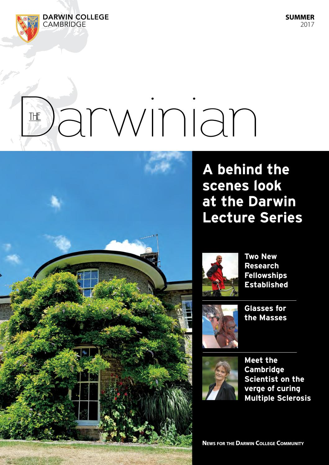 Who and for what was the Darwin Prize issued