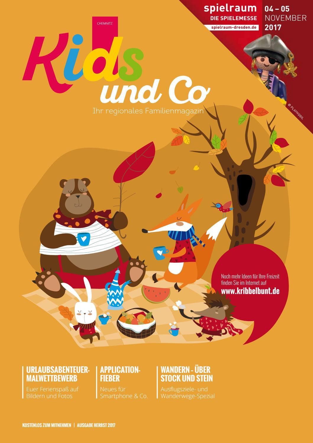 Kids Und Co Chemnitz Ausgabe Herbst 2017 By Cala Verlag Gmbh Und Co