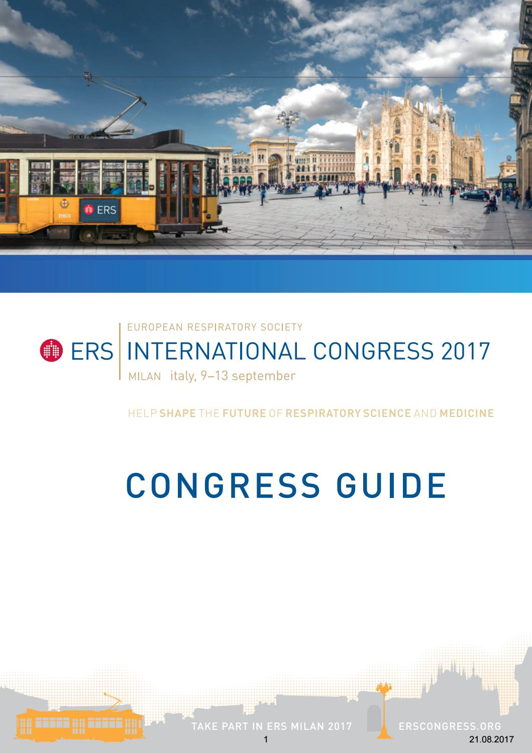ERS International Congress 2017 Program by Margaritidis