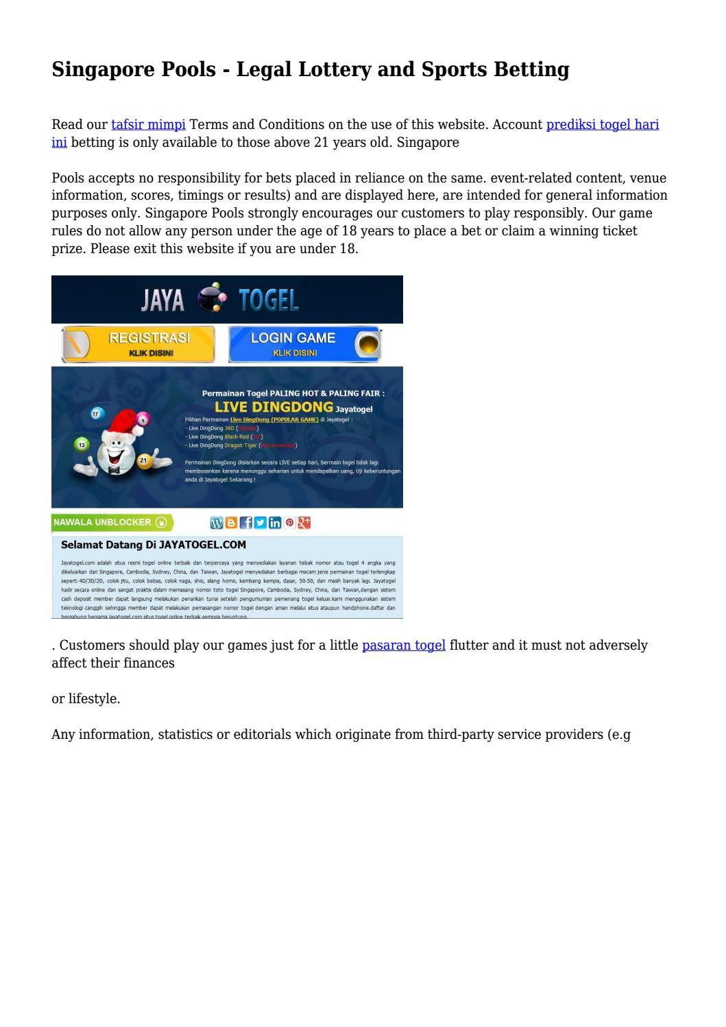 Link Alternatif Jayatogel.Com – Besar