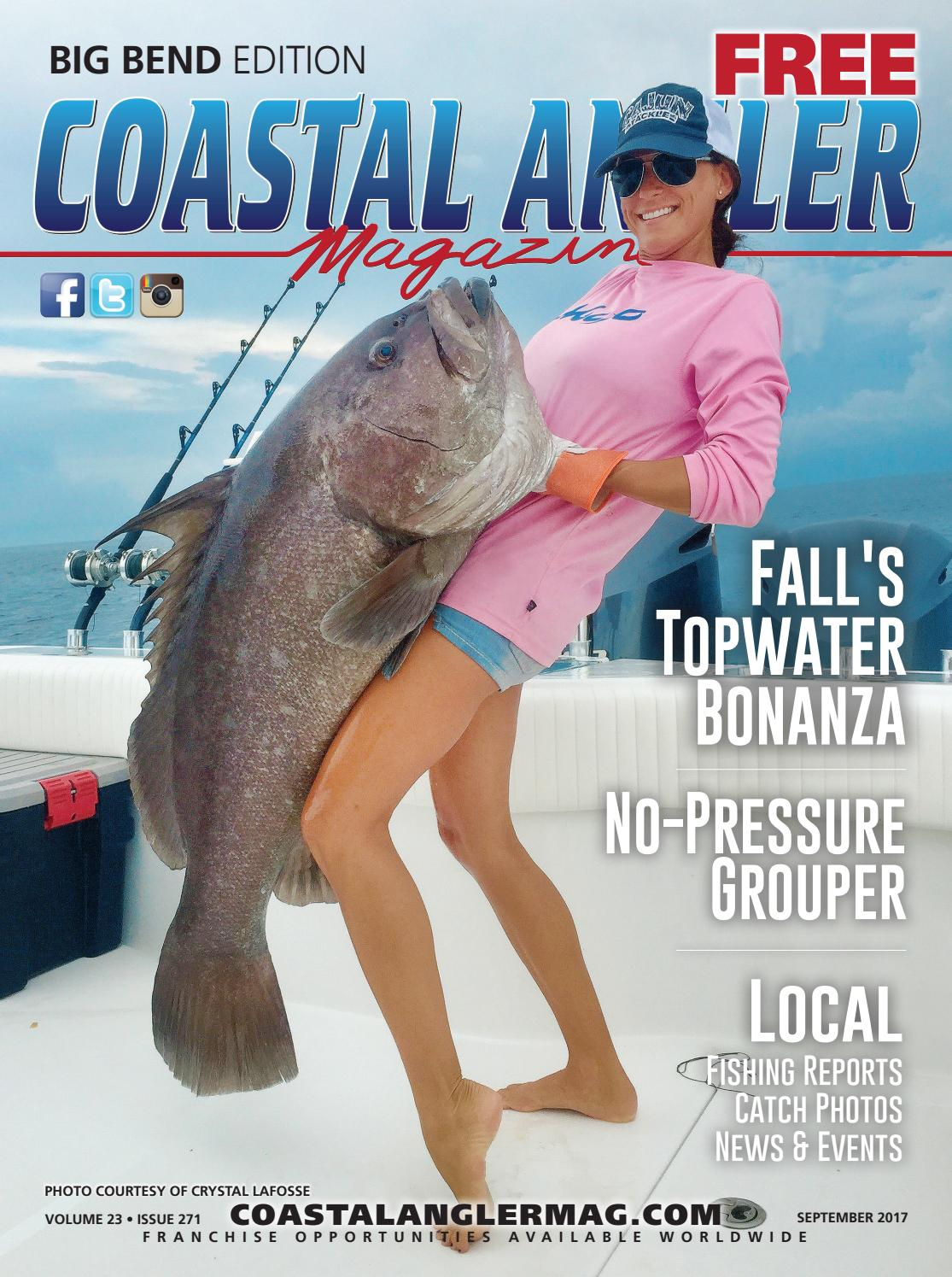 We have in stock frozen salted minnows year round - Coastal Angler Magazine September Big Bend By Coastal Angler Magazine Issuu