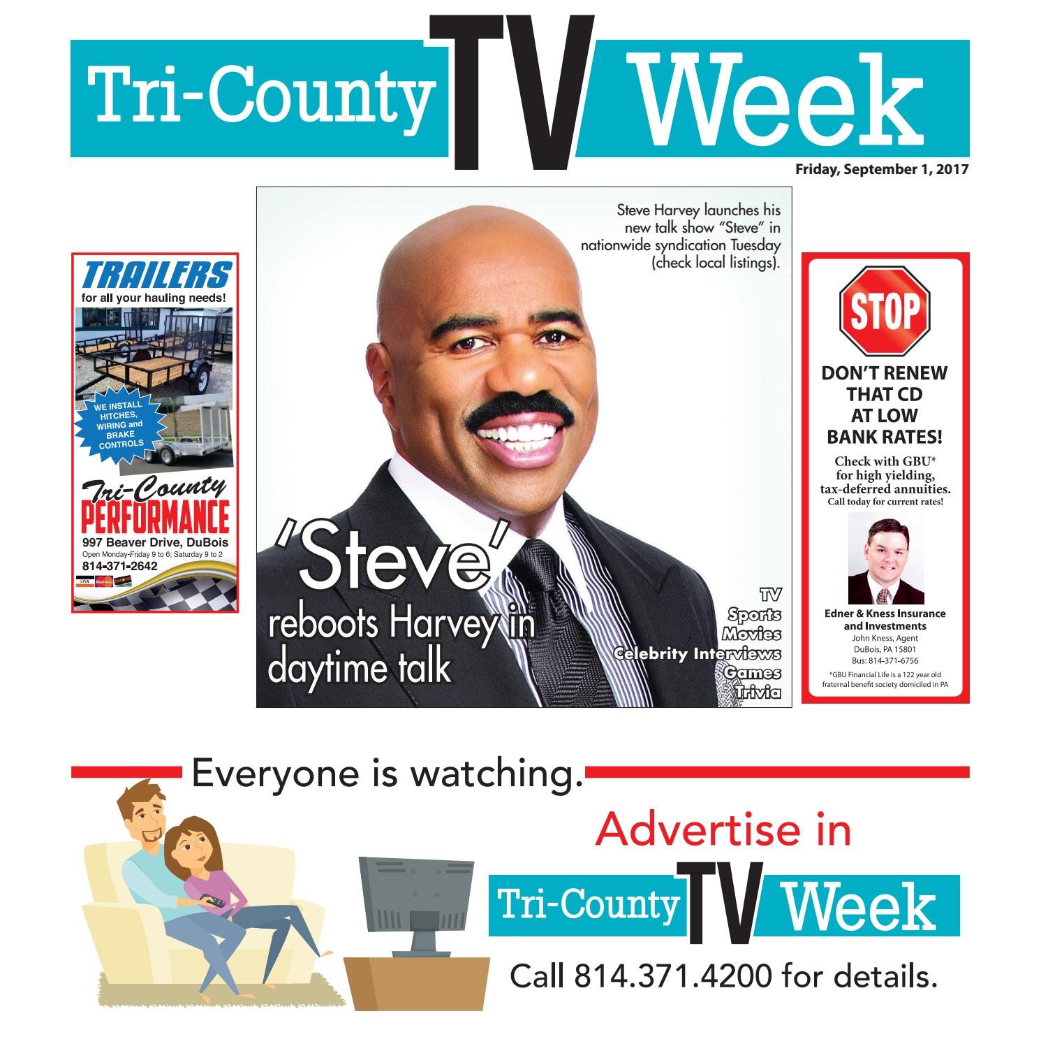 TV Week 09/01/2017 by Tri-County TV Week - issuu
