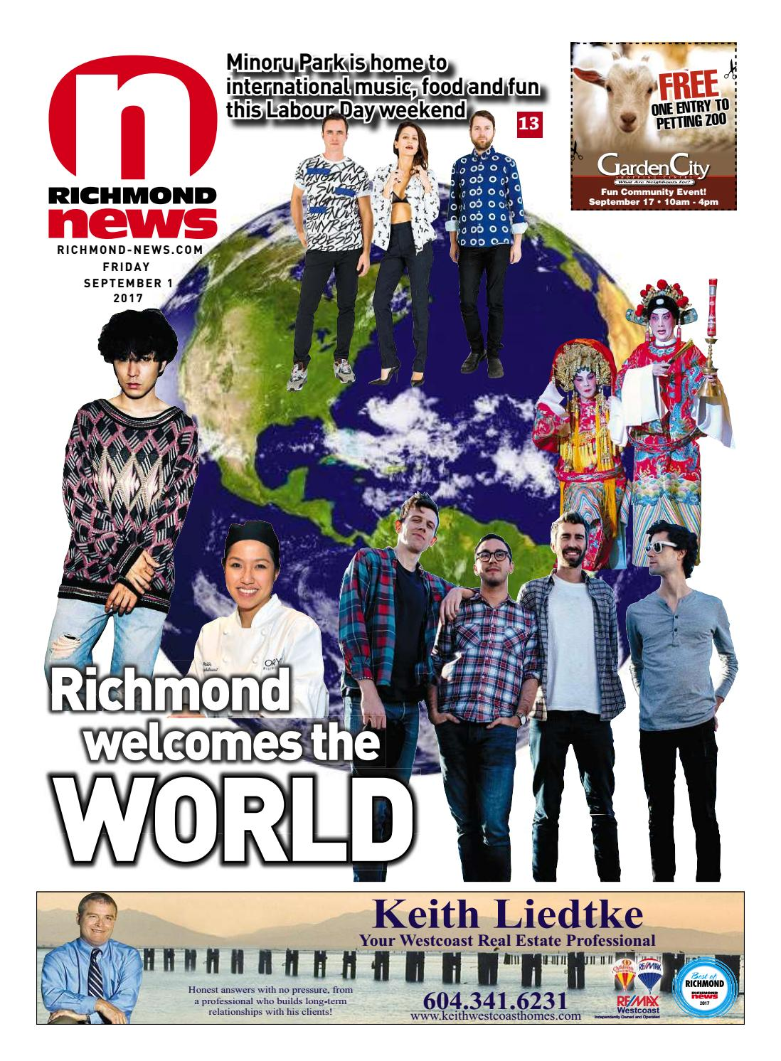 Richmond News September 1 2017 by