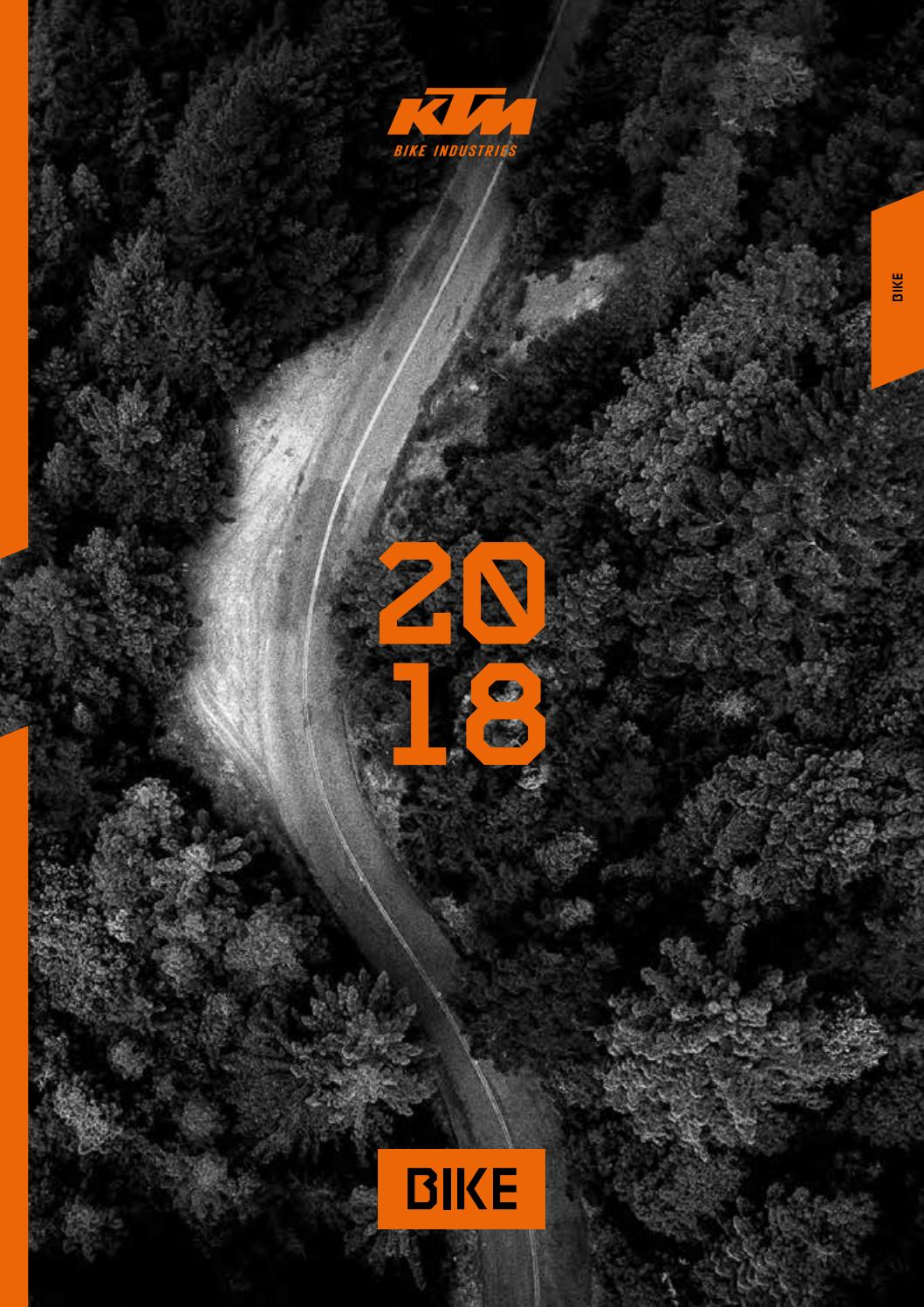 Ktm bike catalogue 2018 screen by Oliver Lill - issuu