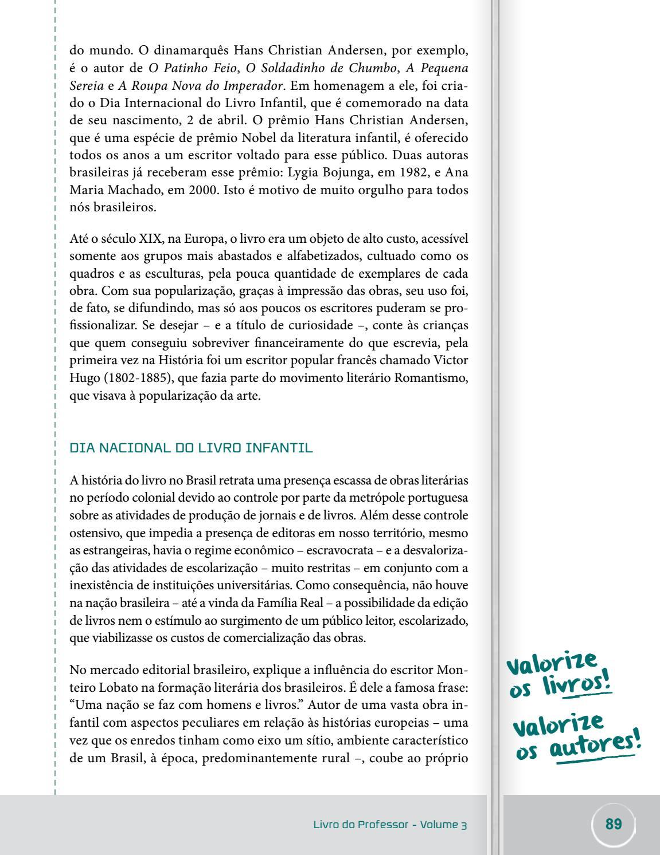 Ensino Fundamental Livro Do Professor 3 By Programa De Educação