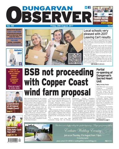 a9a722c76254 Dungarvan observer 25 8 2017 edition by Dungarvan Observer - issuu
