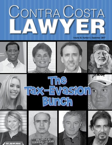 Contra Costa Lawyer - September Tax & Business Law Issue