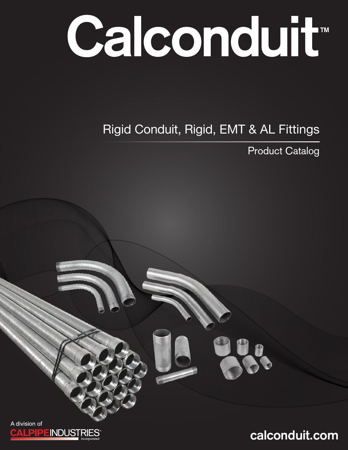 CALCONDUIT EM3090EL00 Elbow,3 in.,90 Degree,EMT