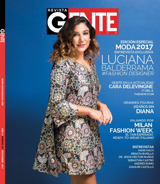 7750f21f6 Revista Gente Sinaloa Edición Septiembre 2017 by Revista Gente ...