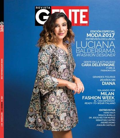 64642cd964 Revista Gente Sinaloa Edición Septiembre 2017 by Revista Gente ...