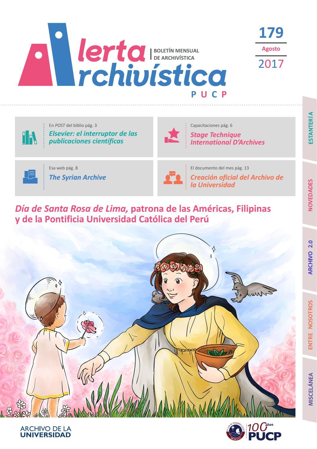 Alerta archivística n° 179 by Archivo PUCP - issuu