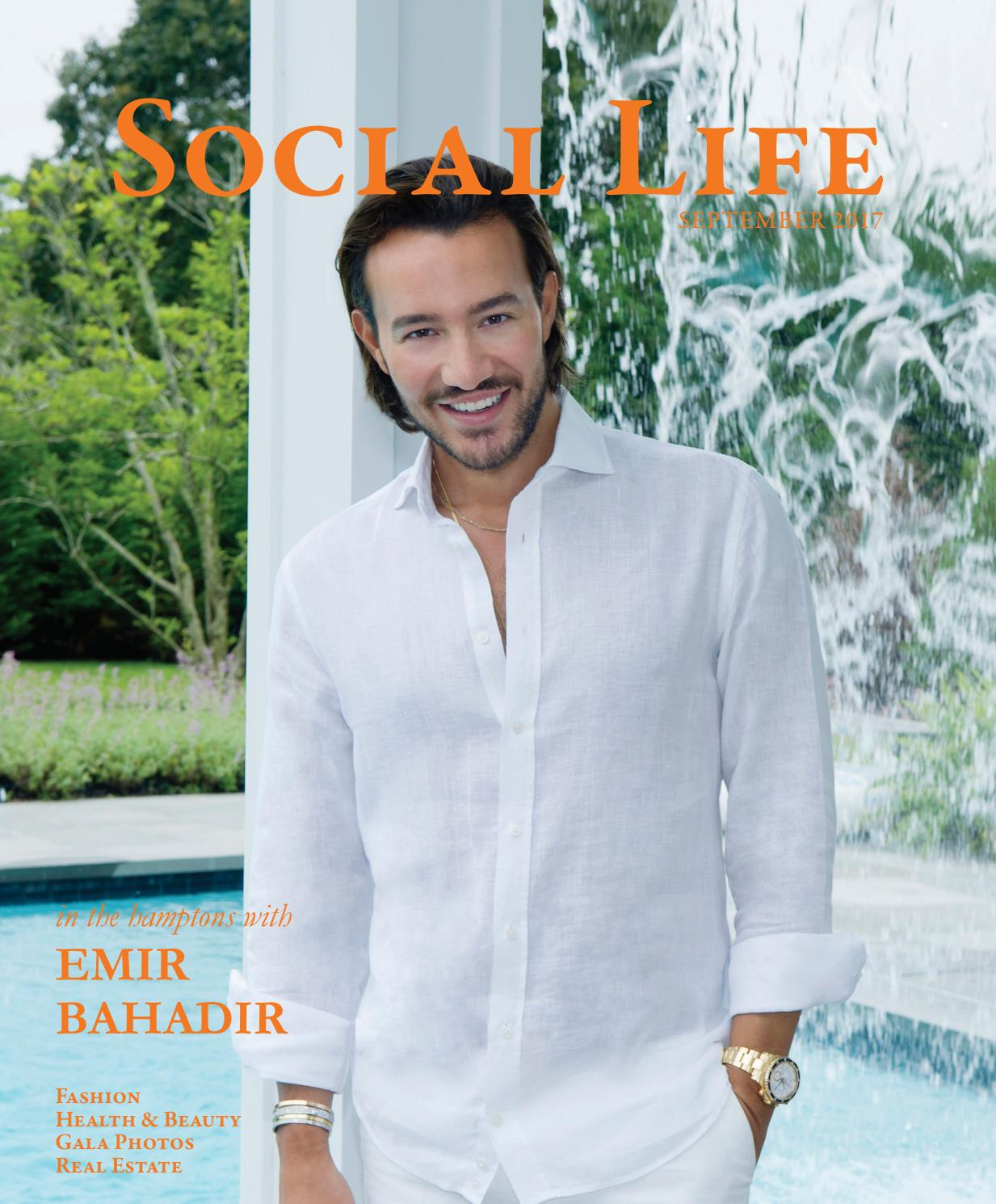 Social Life September 2017 Emir Bahadir By Magazine Doctor Dapper Hair Mud Gold 100 Gr Issuu
