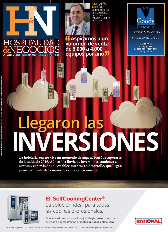 c6dcb0ffaeb75 Hospitalidad y Negocios N° 130 by Ladevi Media   Solutions - issuu