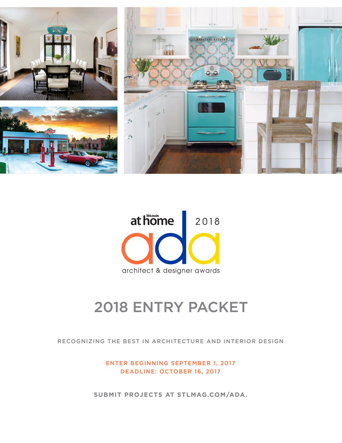 2018 Architect & Designer Awards Entry Packet by St. Louis Magazine ...