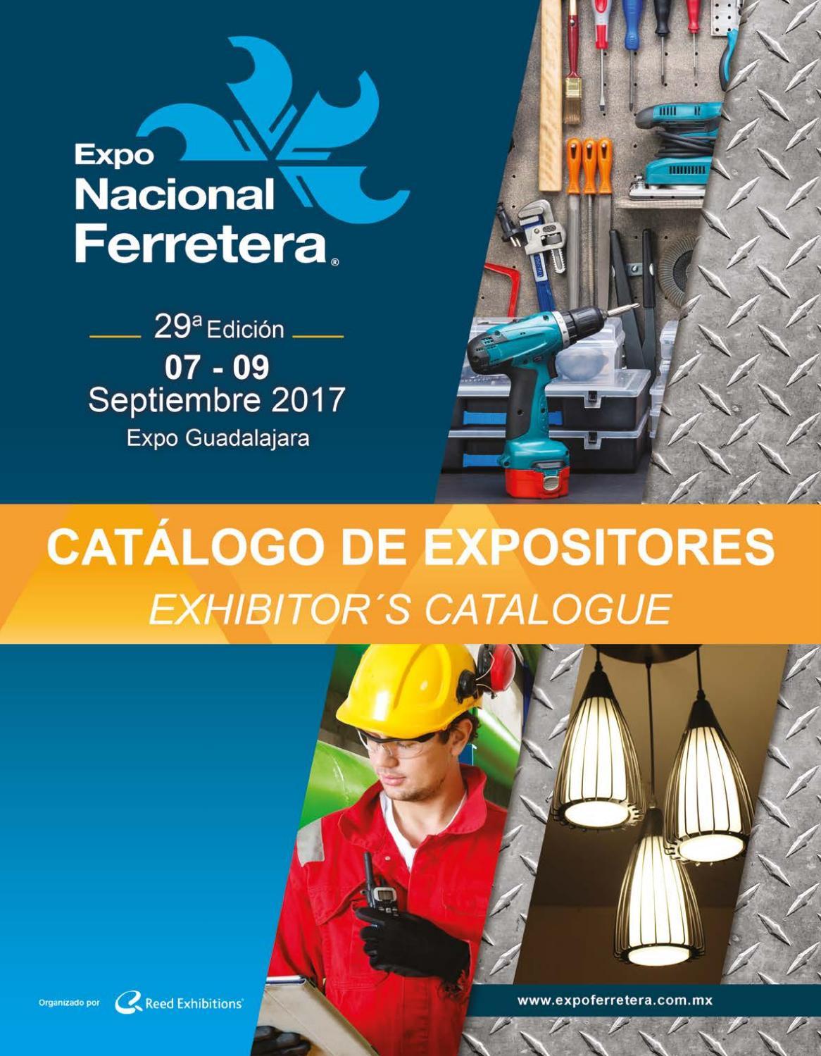 Catálogo De Expositores Expo Nacional Ferretera 2017 By Reed